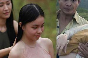 Loạt áo yếm nữ diễn viên 13 tuổi mặc đóng cảnh nóng phim 'Vợ ba' có phản cảm?