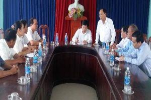 PCT Hội Nông dân Việt Nam thăm và làm việc tại xã Điện Quang