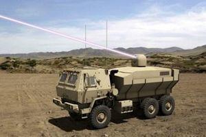 Lục quân Mỹ sản xuất vũ khí laser công suất cao di động