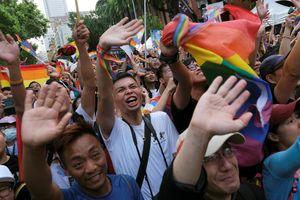 Đài Loan thông qua luật hôn nhân đồng tính