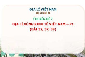 MÔN ĐỊA LÝ: Chuyên đề 7 - Kinh tế Việt Nam Phần 1