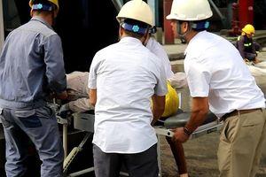 Kiểm tra nghiệp vụ chữa cháy tại Công ty Nhiệt điện Uông Bí