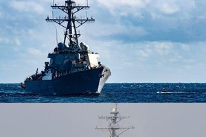 Thêm hai tàu chiến Mỹ tiến vào vịnh Ba Tư