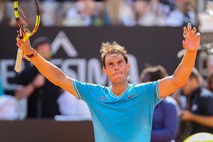 Nadal 'tốc hành' vào bán kết Rome Masters