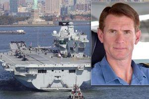 Lạm dụng xe công, chỉ huy tàu sân bay lớn nhất Anh mất chức