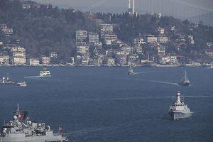 Xem hải quân Thổ Nhĩ Kỳ 'tung hoành' tập trận trên ba vùng biển