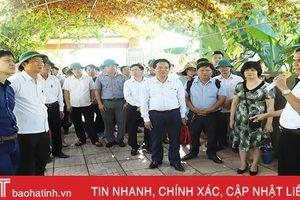 Mô hình thu gom, xử lý nước thải hộ gia đình ở Hà Tĩnh đạt kết quả khả quan