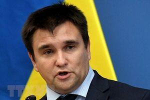 Ngoại trưởng Ukraine viết đơn xin từ chức