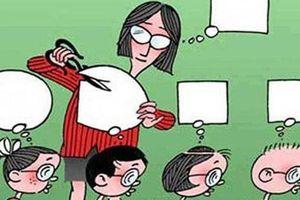 Phạt quỳ học sinh: Giáo dục không phải là trừng phạt