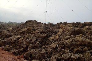 Vụ đổ hàng nghìn khối đất phong hóa lên ruộng dân ở Quảng Bình: Xử phạt Công ty Hoàng Huy Toàn