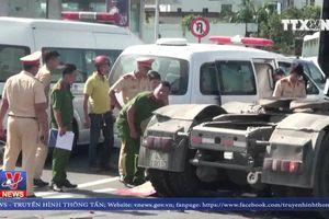 Đà Nẵng lại xảy ra tai nạn giao thông giữa xe tải và xe máy