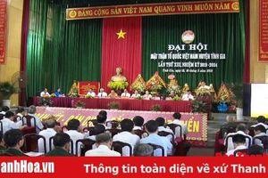 Đại hội đại biểu MTTQ huyện Tĩnh Gia lần thứ XIII, nhiệm kỳ 2019 - 2024
