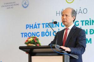 Chủ tịch VNREA Nguyễn Trần Nam: Mua đất là 'chôn tiền'