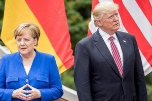Thủ tướng Đức Merkel gọi Mỹ là đối thủ của châu Âu