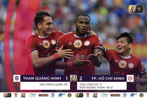 Mạc Hồng Quân ghi bàn, Than Quảng Ninh vẫn thua đau phút bù giờ
