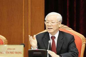 Toàn văn Phát biểu của Tổng Bí thư, Chủ tịch nước Nguyễn Phú Trọng khai mạc Hội nghị Trung ương 10 khóa XII