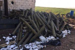 Choáng trước số lượng tên lửa chống tăng trên chiến trường Syria