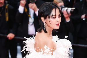Sao nữ Trung Quốc gây chú ý ở Cannes vì quá giống Song Hye Kyo