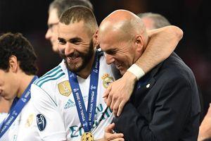Benzema: 'HLV Zidane giống như anh cả của tôi'