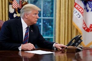 Ông Trump vẫn kiên trì 'canh điện thoại' chờ cuộc gọi từ Iran