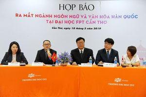 Ra mắt ngành Ngôn ngữ học và văn hóa Hàn Quốc đầu tiên ở ĐBSCL