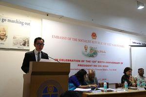 Kỷ niệm sinh nhật lần thứ 129 của Bác Hồ tại Ấn Độ
