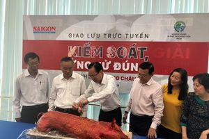 Lãnh đạo TP.HCM và Bộ NN-PTNT cùng ăn thịt heo