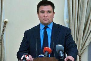 Ngoại trưởng Ukraine đột ngột từ chức