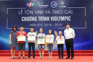 Hơn 2000 học sinh đoạt giải tại cuộc thi Violympic 2018 - 2019