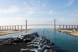 Đội tàu chiến Mỹ ở vịnh Péc-xích 'nằm trọn' trong tầm ngắm của tên lửa Iran