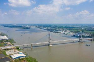 Những hình ảnh về quá trình xây dựng cầu Vàm Cống sau 6 năm