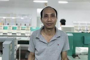 Công nhân Nguyễn Huy Hải: Người tổ trưởng tận tụy, gương mẫu