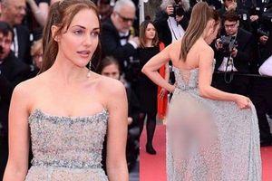 Sau tạo dáng lố giờ, loạt sao vô danh còn dùng chiêu ăn mặc lố lăng để gây chú ý tại Cannes 2019