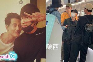 Hội bạn thân quyền lực bí mật đi du lịch, Kim Woo Bin lộ diện sau điều trị ung thư