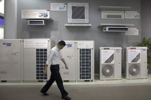 Gree của Trung Quốc dẫn đầu thế giới về sản xuất máy lạnh
