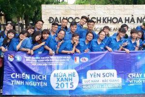 Sáng nay, Thành đoàn Hà Nội phát động Chiến dịch Thanh niên tình nguyện Hè 2019
