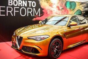 Alfa Romeo Giulia tỏa sáng 'chói lọi' với màu sơn Ochre mới