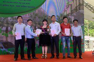 Sau 8 tháng thi công, dự án Phú Hồng Khang và Phú Hồng Đạt đã bàn giao sổ hồng