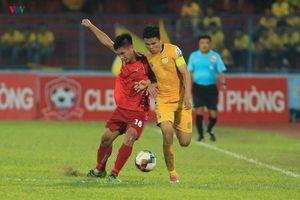 Vòng 10 V-League 2019: Thanh Hóa rơi điểm đáng tiếc, Viettel thua đậm