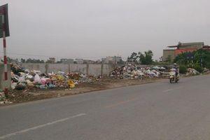 Xử lý rác thải dọc quốc lộ 21B