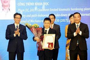 Nhà khoa học nữ đầu tiên được trao tặng Giải thưởng Tạ Quang Bửu