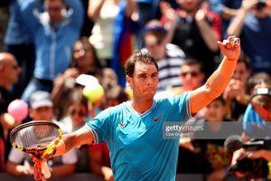 Nadal và Djokovic hẹn nhau ở chung kết Rome Masters 2019