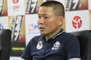 Bùi Tiến Dũng mắc sai lầm, HLV Hà Nội FC nói gì?