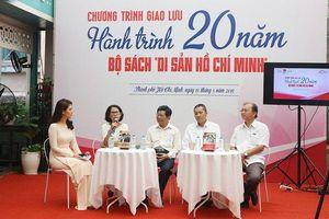 Giao lưu 'Hành trình 20 năm bộ sách Di sản Hồ Chí Minh'