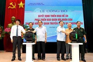 Sự kiện quan trọng đánh dấu bước phát triển mới của Báo Quân đội nhân dân