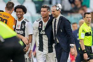 Ronaldo xuất sắc nhất, HLV Allegri bác bỏ có bất đồng