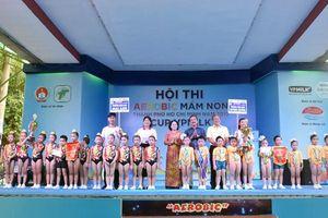 TP.HCM: Chung kết và trao giải hội thi Aerobic mầm non toàn thành