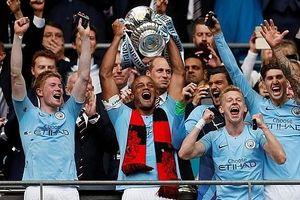 Vùi dập Watford, Man City lên ngôi vô địch FA Cup