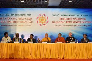 Phật giáo thời 4.0 - Chủ đề làm 'nóng' diễn đàn Vesak 2019