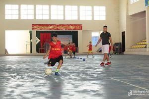 Bóng đá Quỳnh Lưu quyết tâm khẳng định truyền thống